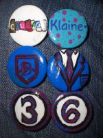 Glee Pins by aulophobia