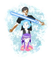 Jerren and Ami commission 2 by chainedname
