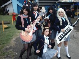 K-on Cosplay by Nome-chan