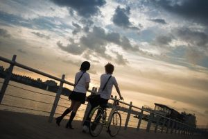 Chiaki Mamiya_The Girl Who Leapt Through Time by AMPLE-COSPLAY