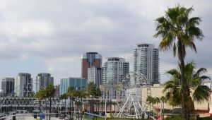 Ferris Wheels and Skyscrapers by ShipperTrish