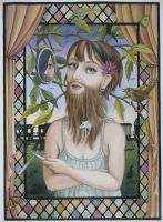 Bearded Lady by LaineB