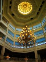 Lobby of the Grand Floridian Hotel by jesus-at-art