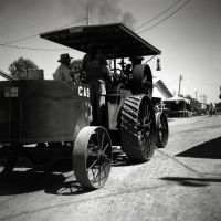 Case Steam Tractor on way to Shingle Mill II by rdungan1918