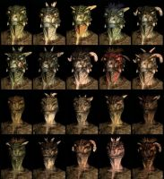 Skyrim races- argonians by Dovahkiin117
