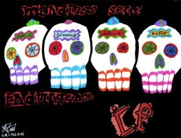 Mindless Self Calaveras by Crimson-Werecat