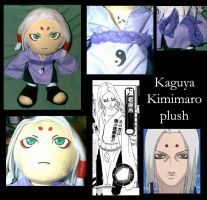 Custom Plushie: Kimimaro by Necronomical