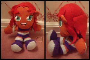 Starfire the Plushie by VesteNotus