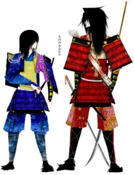 2 samurai by shinma648