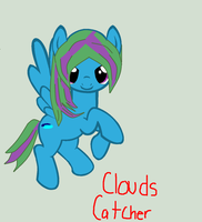 MLP OC- Clouds Catcher by ShugoGurl