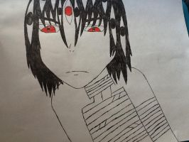 Kishin Asura Drawing by jinxxnixx