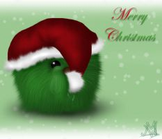 Have a fuzzy Xmas by Nachtrae