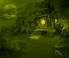 pirate's hideout by Krivio