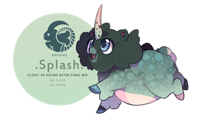 Splash Anubias Auction! CLOSED by SinCommonStitches
