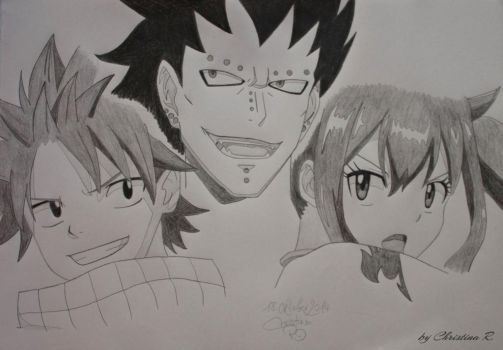 Dragon Slayers of Fairy Tail by M0nstac00kie