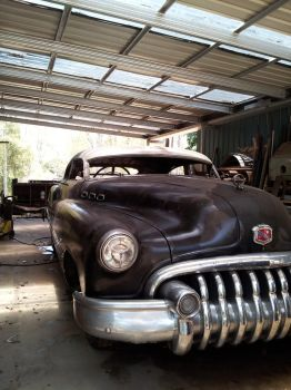 The Buick further on by D34Dsmell