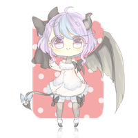 Cutie devil adoptable auction [CLOSED] by Iyshu