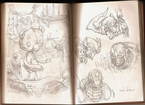 Sketchbook 3 by Coconuthead