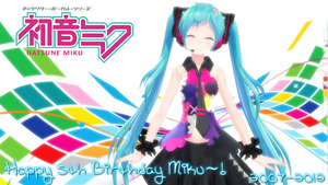 Have a Very Happy Birthday Hatsune Miku~! by Link-Pikachu