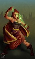 Wizard by thepenciler