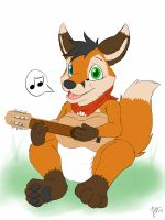 Guitar pup by Lincub