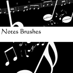 Notes Brushes by shapemaster