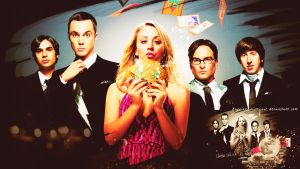 The Big Bang Theory wallpaper 6 by HappinessIsMusic