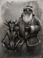 Merry Krampus by croonstreet
