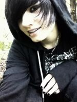 emo smile by KleptoCorpse