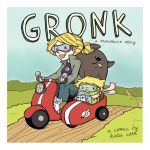 Gronk book cover by katiecandraw