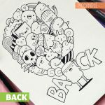 BACK Doodle + Giveaway by PicCandle