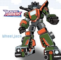 Transformers Wheeljack by ninjha