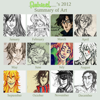 2012 SUMMARY OF ART by Rekieel