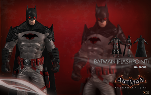 Batman Arkham Knight - Batman (Flashpoint) by XNASyndicate