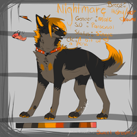 Nightmare ref sheet :2013: by city-kings