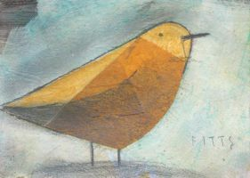 Little Yellow Bird-ACEO by SethFitts