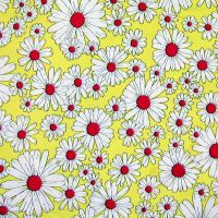 Vintage fabric daisy by SolStock