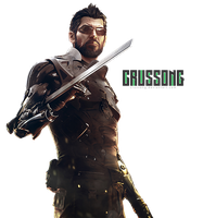 Deus Ex: Mankind Devided - Adam Jensen Render by Crussong