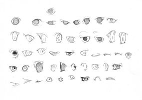 eyes-practice by AlumitQamra