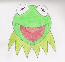 Kermit the Frog by lizardman22