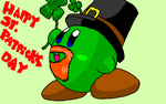 "Happy St. Patricks Day ""kirby"" by Rotommowtom"