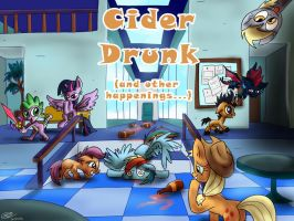 Cider Drunk by Loreto-Arts