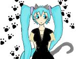 Miku in Cat suit by MikuPro