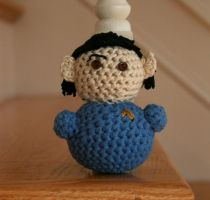 Star Trek TOS - Spock plushie by hookedonchibis