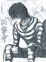 Death Note - Matt by mikekira