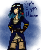 Contrest Entry- Captain Sigyn Muninn by Ask-TheDrakon