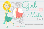Girl to the mode BHR by iBeHappyRawr