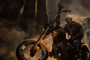 Ghost Rider by Kylehailey