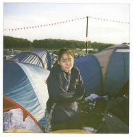 Leeds Fest Polaroids - Sam by el-ginge