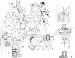 Avatar Christmas by Chick-with-a-pencil
